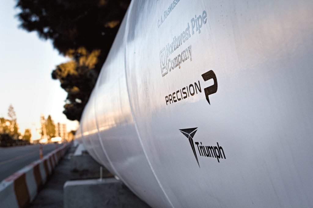 Precision Construction Services, Hyperloop in LA