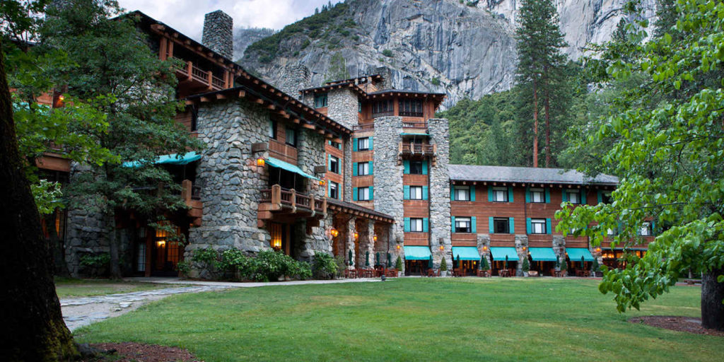 The Majestic Hotel In Yosemite