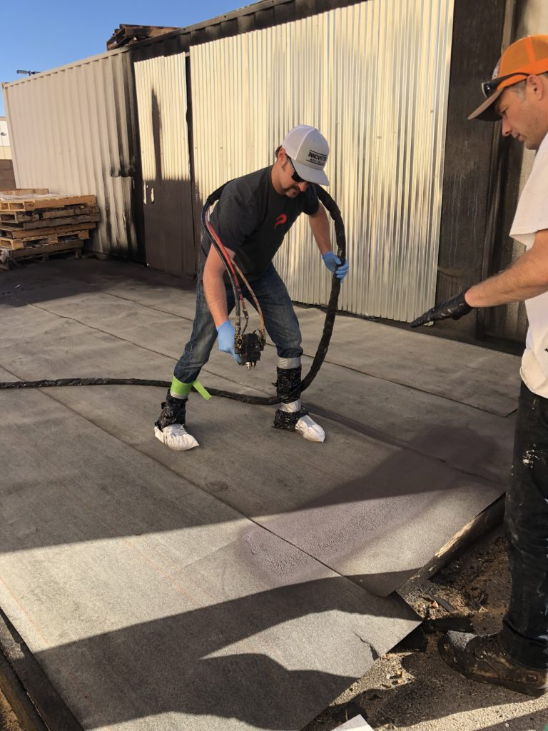 Precision Construction Services at Neptune Training in Las Vegas, Nevada.