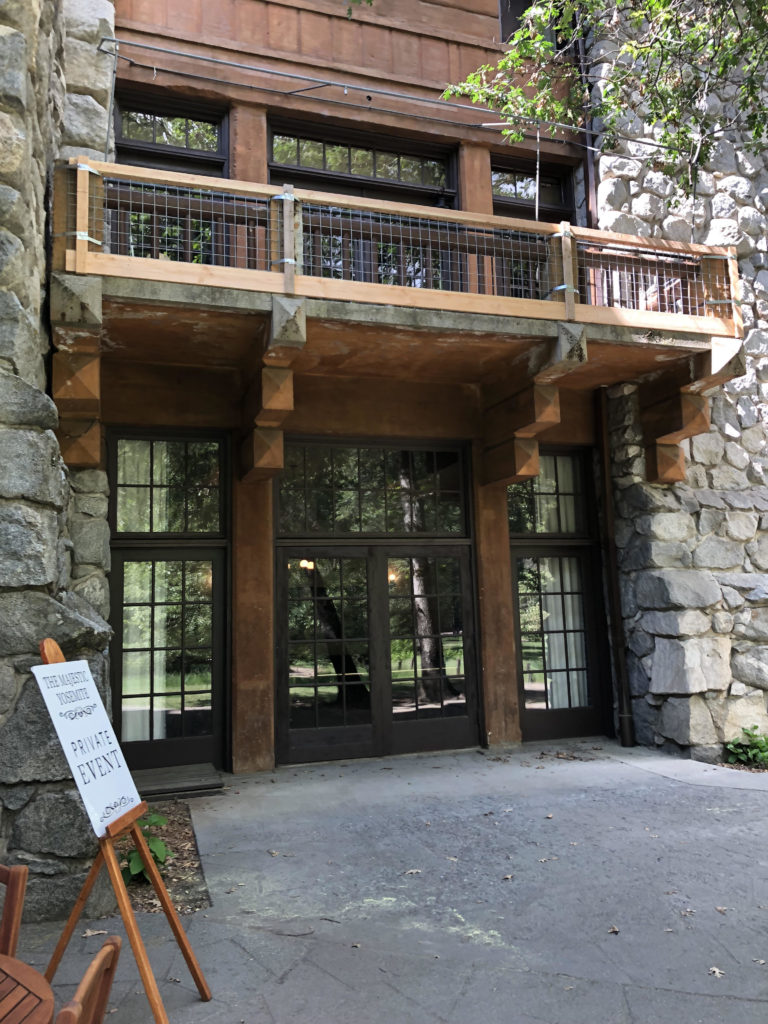 Ahwahnee Hotel Construction Begins!