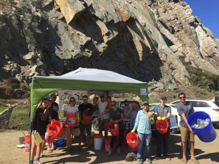 Precision Team Members Volunteer at Annual California Coastal Cleanup