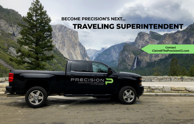 Hiring West Coast Traveling Superintendent